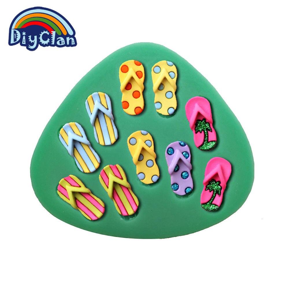 CALIENTE Zapatos Zapatillas de Playa de herramientas de decoración de pasteles f
