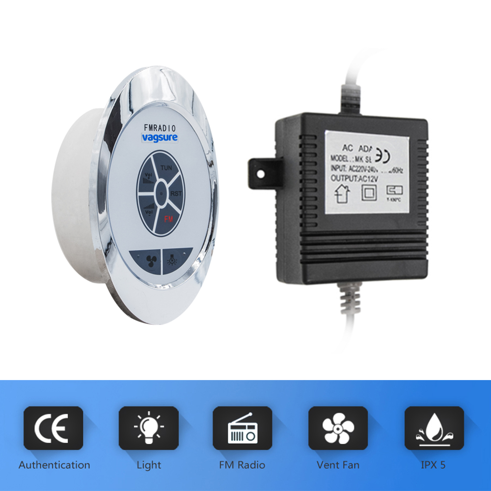 1set cheap price oval shape silver color shower radio panel with complete set of shower spare parts for Russian shower cabin