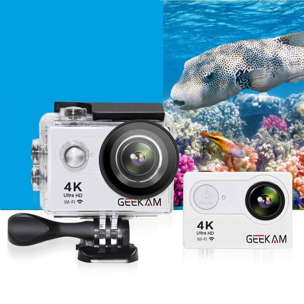 GEEKAM действие Камера H9R оригинальный ультра Депортива Camaras go Водонепроницаемый HD 4k WiFi 1080 P 60fps pro Открытый 170D Спорт Камера