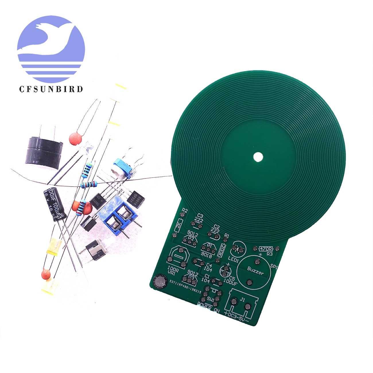 Metal Detector Kit Electronic Kit DC 3V-5V 60mm Non-contact Sensor DIY  rs