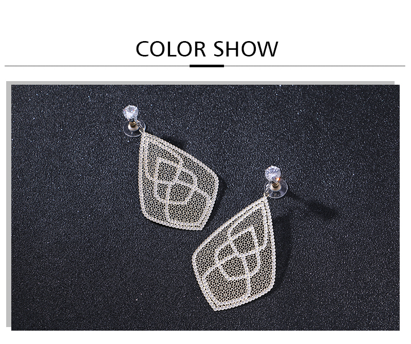 HTB18ReaaULrK1Rjy0Fjq6zYXFXa1 - Badu Big Filigree Statement Earring for Women Rhinestone Dangle Drop Earrings Vintage Fashion Jewelry