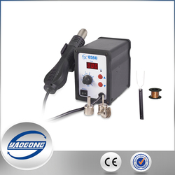 YAOGONG 858D Digital Hot Air Smd Rework Station BGA Soldeer Soldeerstation Voor IC SMD Desolderen|station bga|station solderingstation rework -