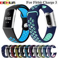 Uhr Band Für Fitbit Gebühr 3 Outdoor Sport Weiche Silikon Ersatz Band Für Fitbit Charge3 Armband Armband Armband