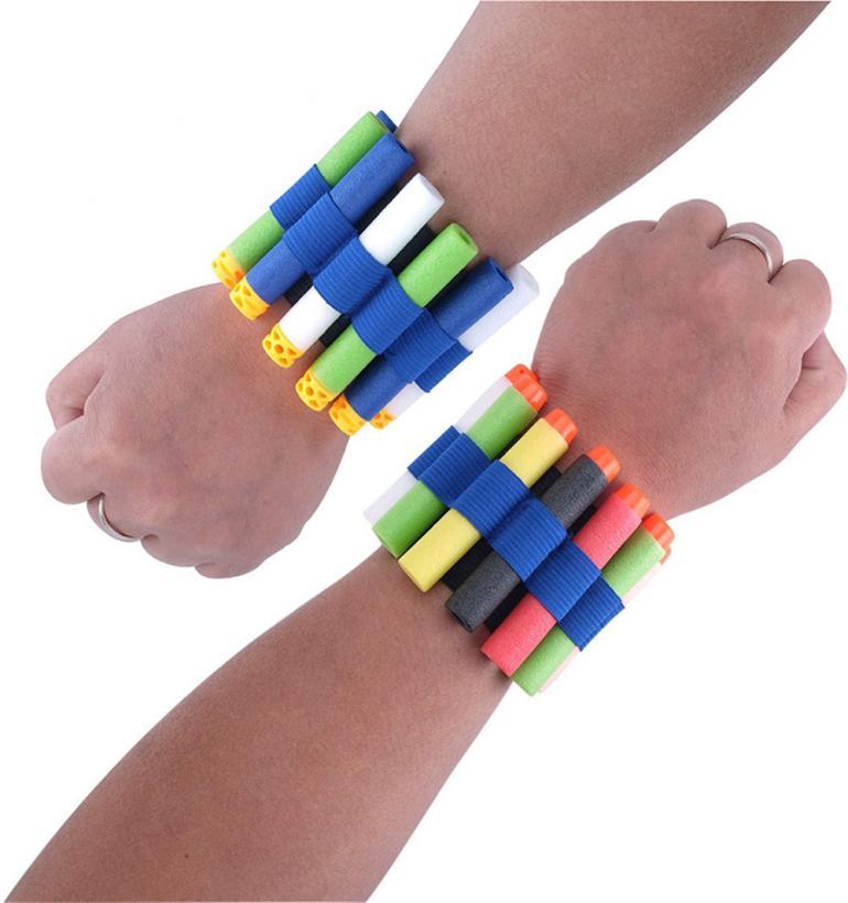 New Toys for children Vest Quick Reload Clips Foam Wristband Bracelet for Nerf N-Strike  ...
