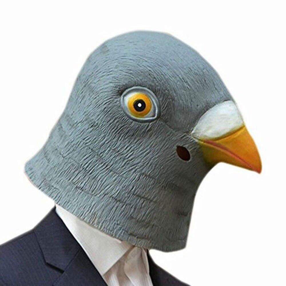 Aliexpress.com : Buy Pigeon Mask Latex Giant Bird Head Halloween ...