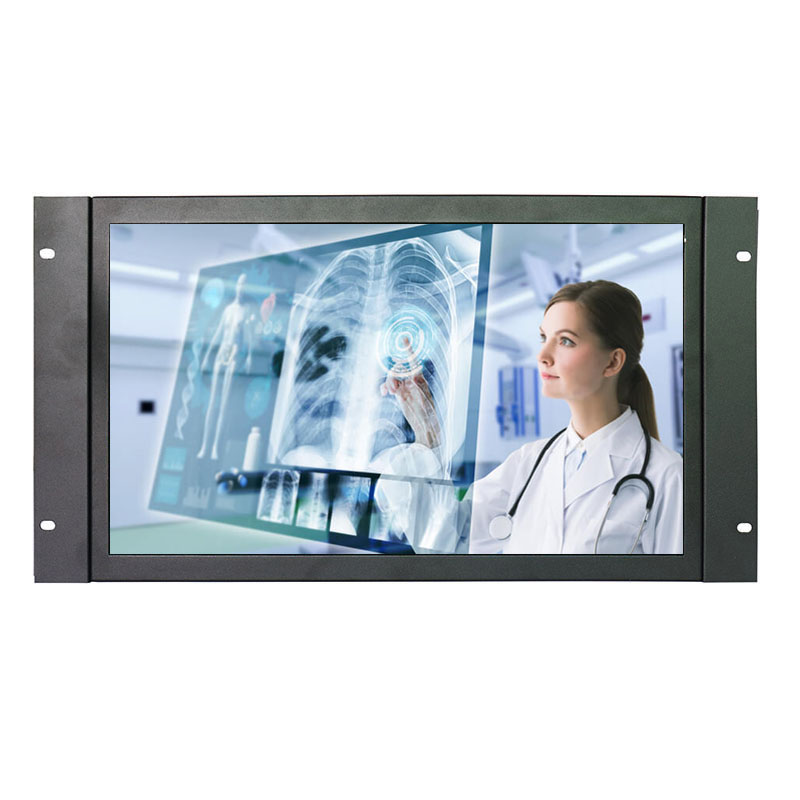 17.3 Inch Wide Touch Monitor Open Frame Industrial Touch Monitor 1920*1080 High Resolution Metal Touch Monitor With VGA/HDMI/USB