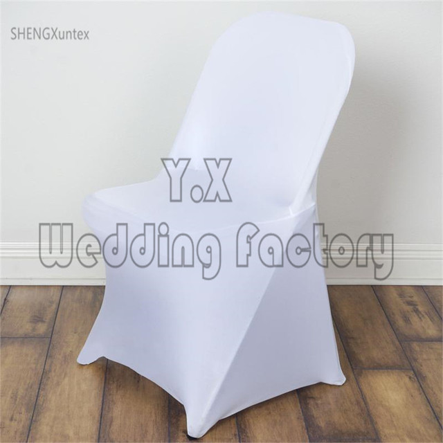wholesale folding chair covers for sale hickory dining chairs white color lycra spandex cover wedding event decoration