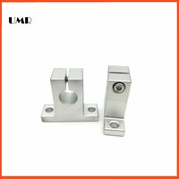 2pcs Lot SK50 SK Stand UP SHAFT Support 2pcs SK50 Pillow Block Bearings Linear Rail End