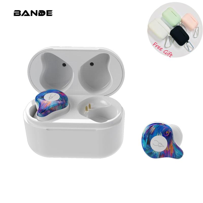 BANDE Mini Wireless BLuetooth Earphone Stereo In Ear Bluetooth  Earphone Headset For Ip7 8 Plus For Android-in Bluetooth Earphones & Headphones from Consumer Electronics