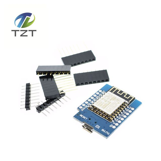 5pcs D1 mini  - Mini NodeMcu 4M bytes Lua WIFI Internet of Things development board based ESP8266 by WeMos