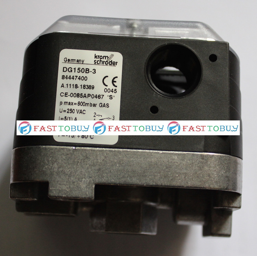 New Arrival Original Pressure Switch for Gas DG150B-3 For Burner New new original pressure switch dg10u 3