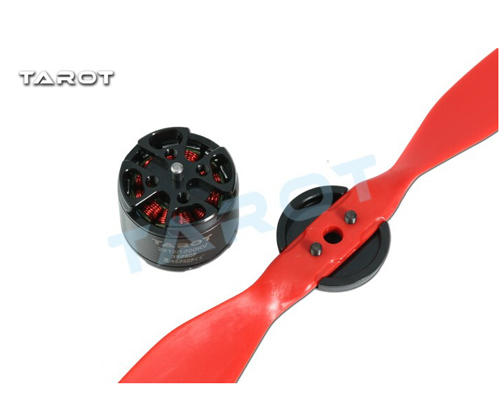 F17388 Tarot TL400H9 2212 <font><b>1200KV</b></font> Brushless Motor with Prop for Multirotor Quadcopter FPV Drone image