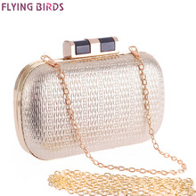 FLYING BIRDS 2016 banquet bags Diamond women clutch evening bag fashion chain party bags women's bag high quality purse LM3537fb