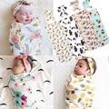 2017 Cute Printing Sleep sacks Newborn Baby Blanket Bedding Blanket Wrap Swaddle Blanket Bath Towel Cotton Soft Sleep bags