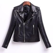 2018 Top Luxury Real Reather Jacket Women Sheepskin Coats Genuine Leather Casual Motorcycle Biker Jackets Zipper Roupas Feminino
