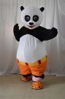 New High quality adult Kungfu Panda Mascot Costume Kung Fu Panda Mascot Costume Kungfu Panda Fancy Dress Free Shipping