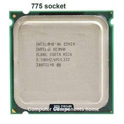 Intel xeon E5420 LGA 775 zócalo de 771 a 775 de 2,5 GHz/12 M/1333 Mhz/CPU obras en 775 de la placa base