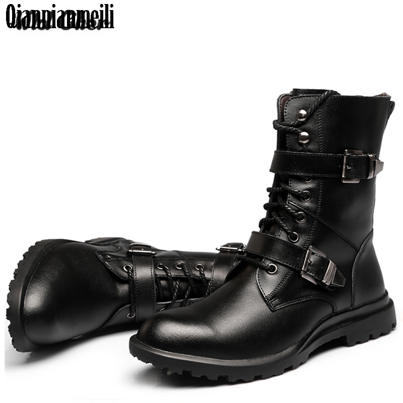 High quality 2017 Fashion Classic Luxury Men Boots Genuine Leather Casual Black Ankle Boots For Men Male Shoes Business Booties men autumn winter genuine leather italian black luxury fashion casual plush ankle boots mens shoes male for wedding business 09