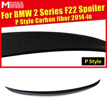 F22 Rear Trunk Spoiler AEP-Style For 220i 228i 235i Carbon Fiber Tail Car Racing Accessories 14+