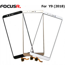 Novecel High Quality Replacement Parts For Y9 (2018)/Enjoy 8 Plus Front Screen Outer Glass Lens replacement repair parts(China)