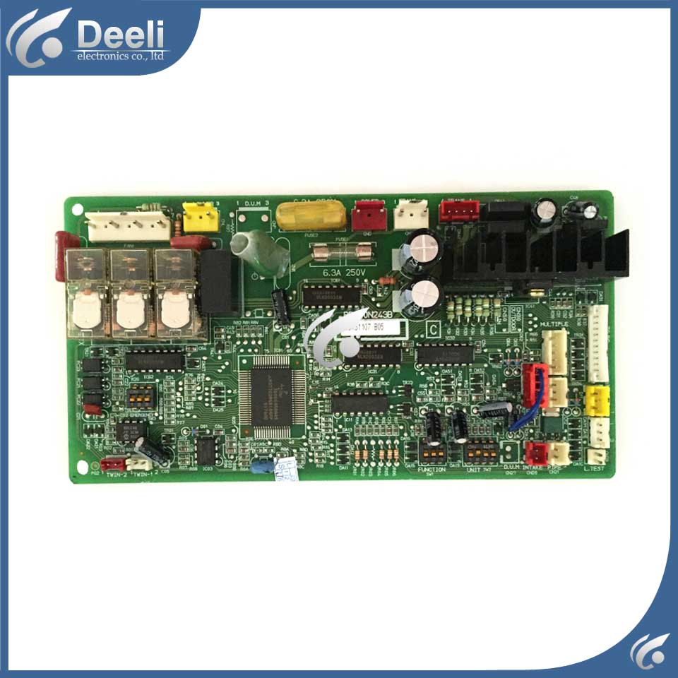 good working for air conditioning computer board BB00N243B BB76N244G01 BB00N243-B used control board air conditioning computer board juk7 820 197 ver1 0 12 25 2002 used disassemble