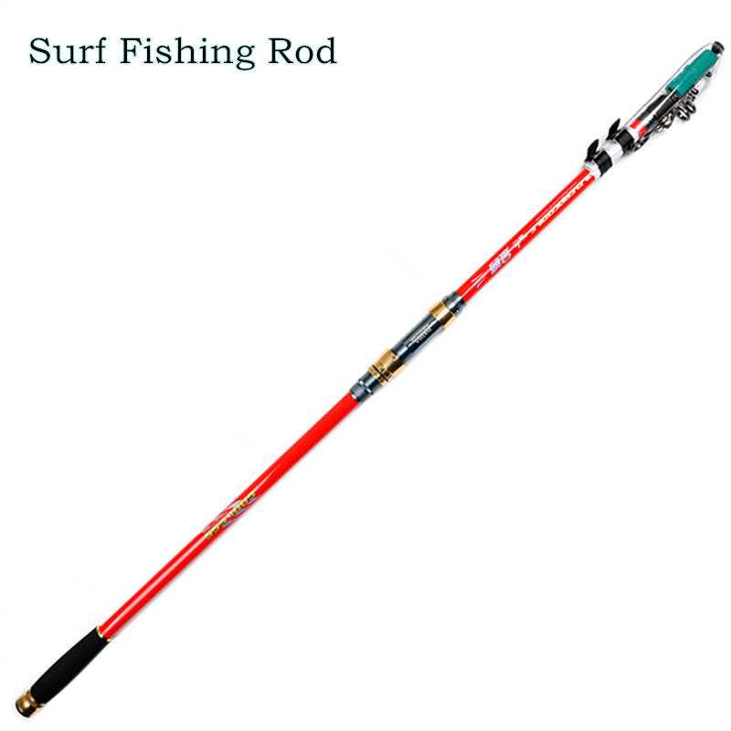 DaiJia superhard surf rod 3.6 / 3.9 / 4.2 / 4.5 m carbon sea pole 8H hard distance throwing rod anchor rod fishing rod