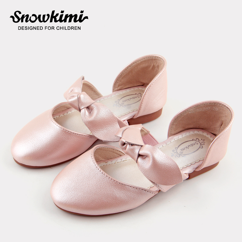 Snowkimi2018 Spring Girl Butterfly leather shoes leather breathable children flat heels dress shoes snowkimi2018 spring girl butterfly leather shoes leather breathable children flat heels dress shoes