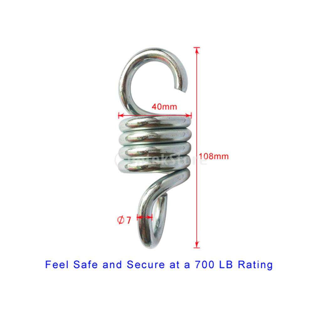 hanging chair bolt swivel egg big w 11pcs set heavy duty 500lb hammock kit spring hook screw ceiling mount fixing hardware accessories in outdoor tools from sports