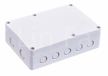 180*120*57mm para o Case de Eletrônicos da Caixa de Junção do Terminal Plástico Invólucro Impermeável Shell Habitação 5 Pcs
