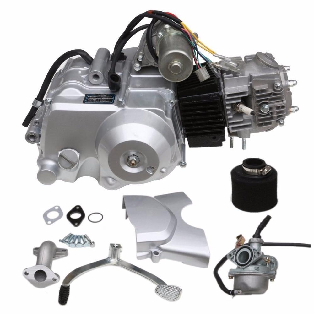 MYMOTOR 125cc Engine 4 Stroke Motor Semi Auto for XR50 CRF50 XR CRF 50 70 SDG