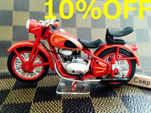 editions atlas alloy motorcycle model simson csepel 125d diecast