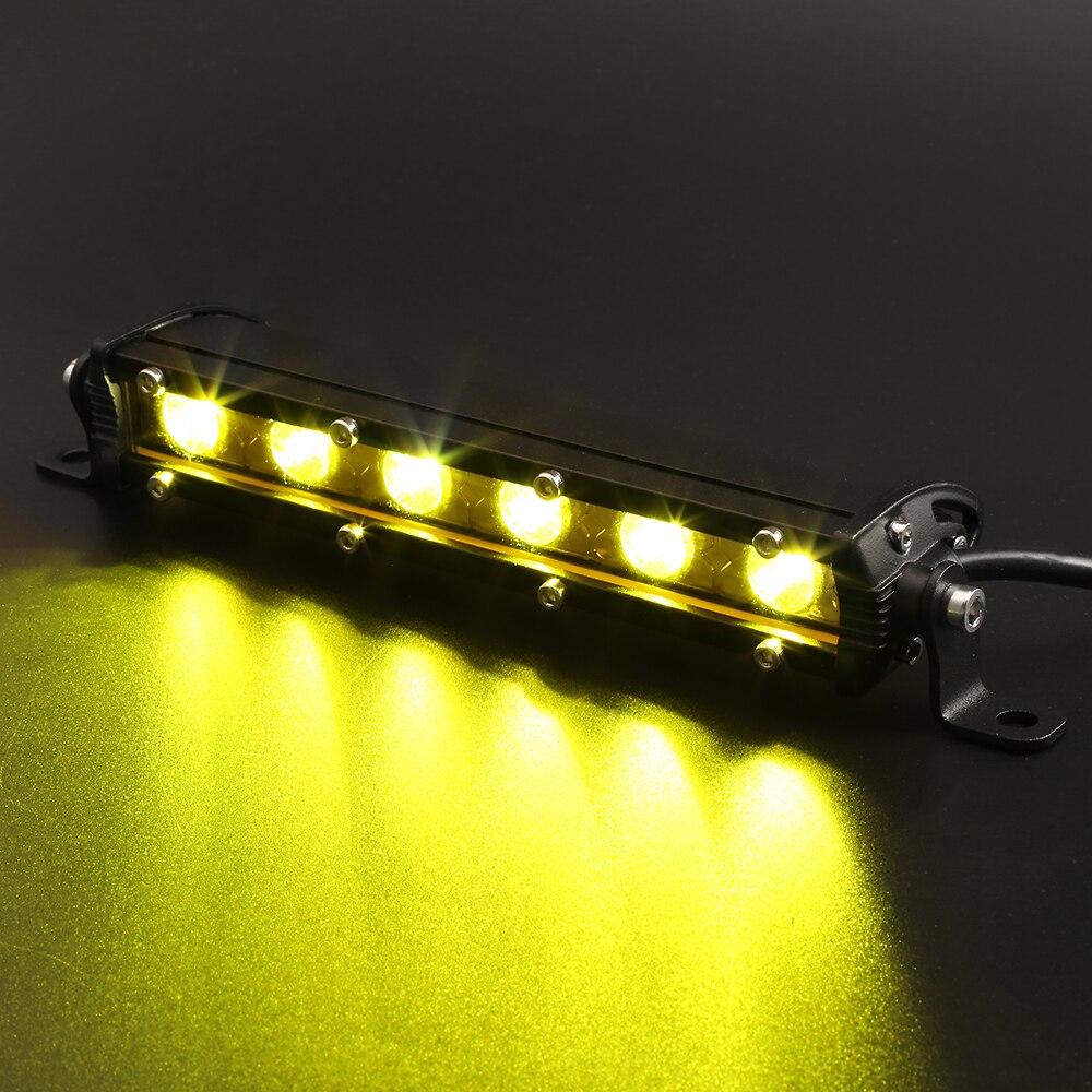 18 Watt 36 Watt 54 Watt LED Auto Arbeitslicht Bar mit CREE Chips 12 V Traktor Spot Flut Arbeit Lampe Led Glühbirne Für Boot Offroad Für bmw vw