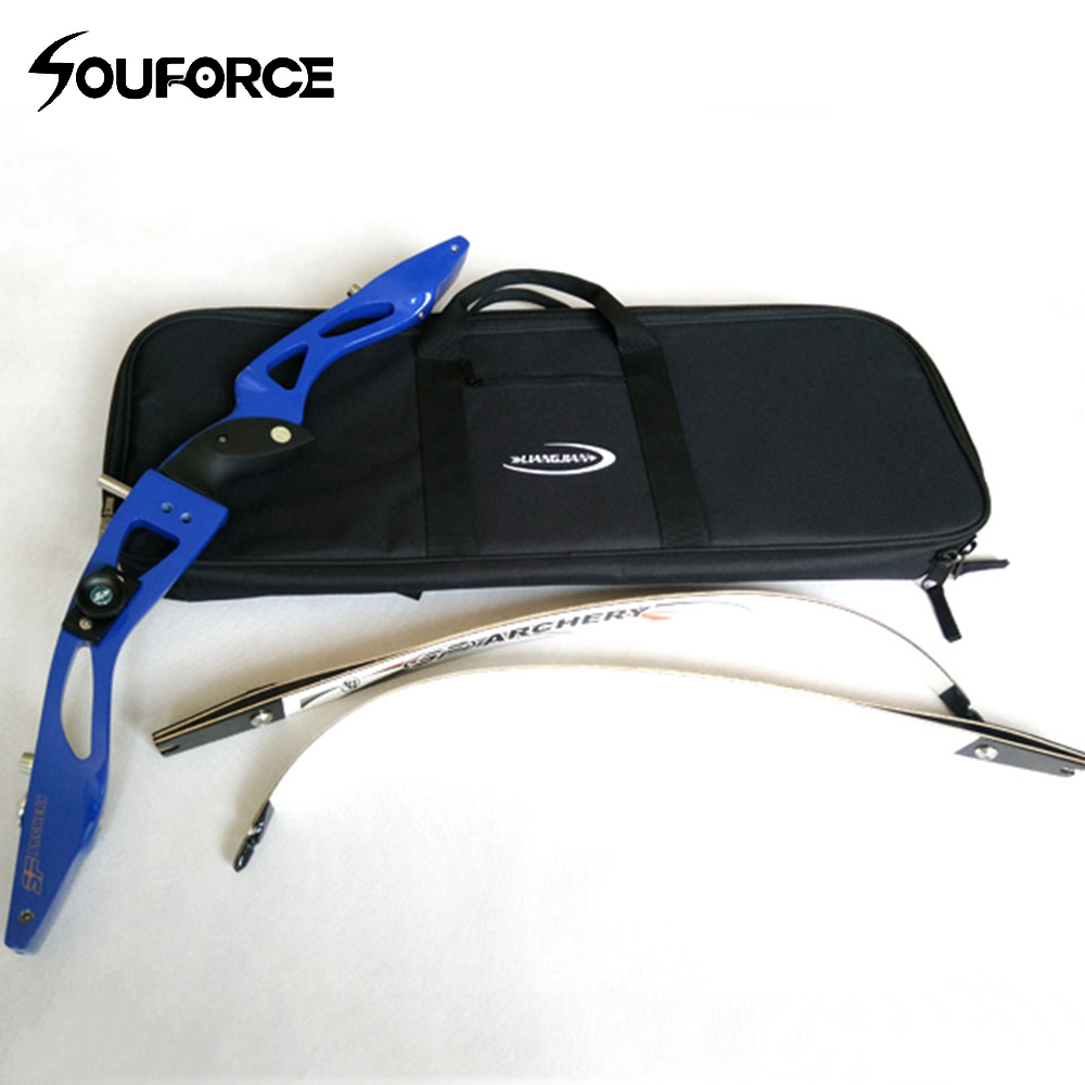 Recurve Bow Case For Bow And Arrow Handle Carrying Waterproof Archery Bag