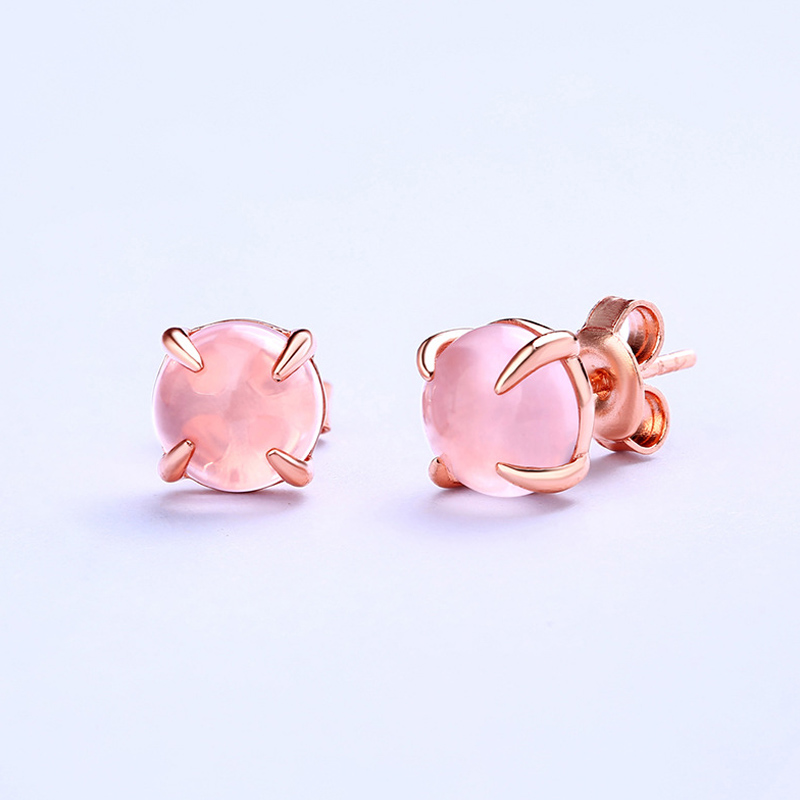 Hot sale fashion Titanium steel Earring for woman jewelry gold/silver/rose and pink color gift CN16