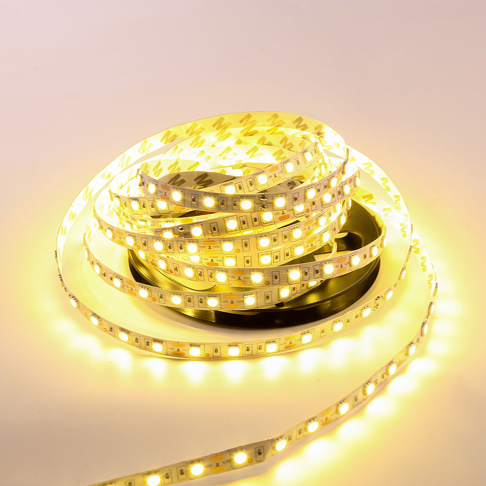 5M 5050 LED Strip Waterproof IP65 DC 12V 300 LEds Diode Tape Flexible Light RGB Cold Warm White Blue Decoration Lamps Lighting