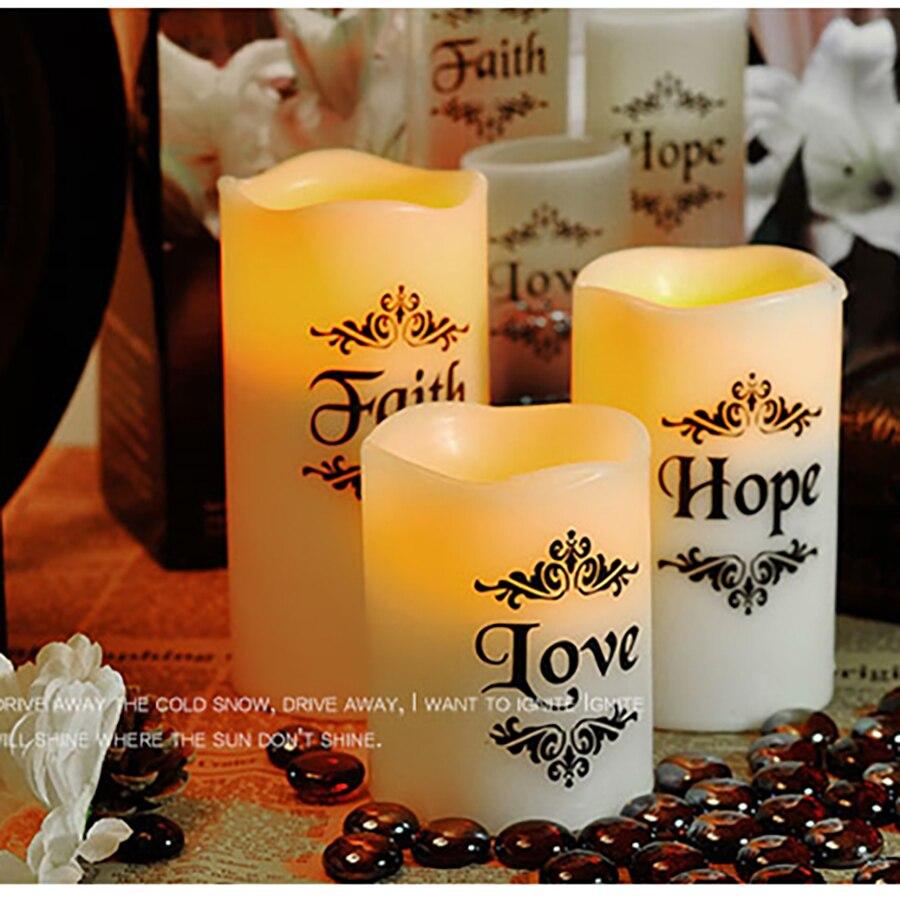 웃 유Романтический светодиодный светиРьник Свадьба День Рождения
