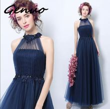 Genuo New 2019 High-end gas field queen banquet elegant and dress new fashion ladies slim 3207