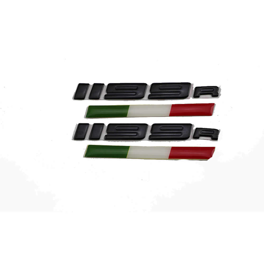 Kodaskin motorcycle decal 3d raise emblem stickers for 1199r panigale sliver color black color