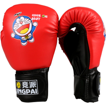 Cheap fitness PU leather child kid gifts Boxing Gloves breathable fighting Training Punching bag funny cartoon MMA boxing glove