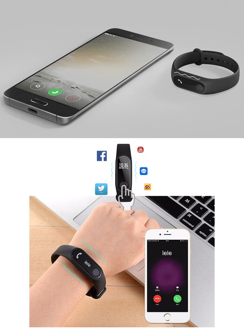 HTB18RkGbMFY.1VjSZFqq6ydbXXad M2 Sport Bracelet Smart Band Heart Rate Watch Men Women Smartwatch For Android IOS Fitness Tracker Electronics Smart Clock