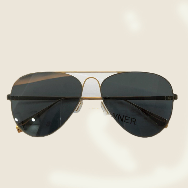 Designer no4 Weiblichen Sunglasses Box 2018 Metall No1 Mit no5 Pilot Frauen Sonnenbrille Sunglasses Oval no3 Verpackung Oculos Sunglasses Sunglasses Spiegel no2 Vintage Objektiv Sunglasses OqzRfXx