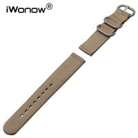18mm 20mm 22mm 24mm Genuine Nylon Watchband For Mido Omega Longines Tissot Men Women Watch Band