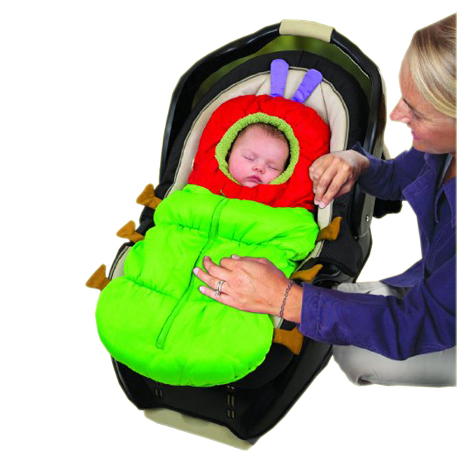 Newborn Baby Sleeping Bag for Winter to Stroller Infant Swaddle Blanket Waterproof Sleep bag