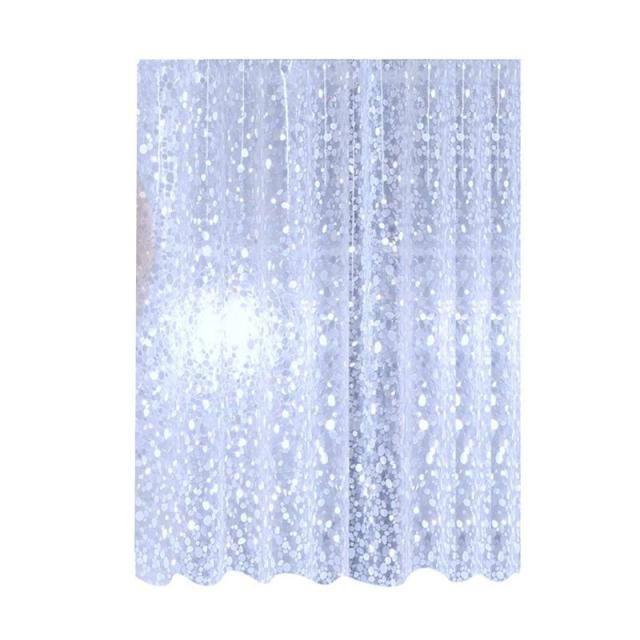 Shower Curtain Waterproof Durabel Special Pebble Covers PEVA For Hotel