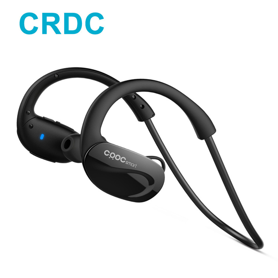 CRDC Sport Wireless Bluetooth 4.1 earphone Secure-fit Wrap-around Built-in Mic for iPhone7Plus Android Xiaomi Huawei Smartphones secure group communication in wireless sensor networks
