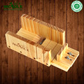 Ajustável de Madeira Pão Molde Sabão Cortador Conjunto de Ferramentas Para Sabonete Artesanal