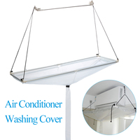 PVC Air Conditioner Washing Cover Air Conditioning Cleaning Dust Washing Tools Ceiling Wall Mounted Household Cleaner Tools