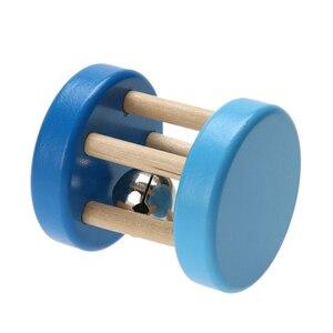 Image 5 - セーフ面白い木製玩具ベビーキッズ子供の知的発達教育木製おもちゃスパイラルガラガラ赤ちゃんの誕生日ギフト