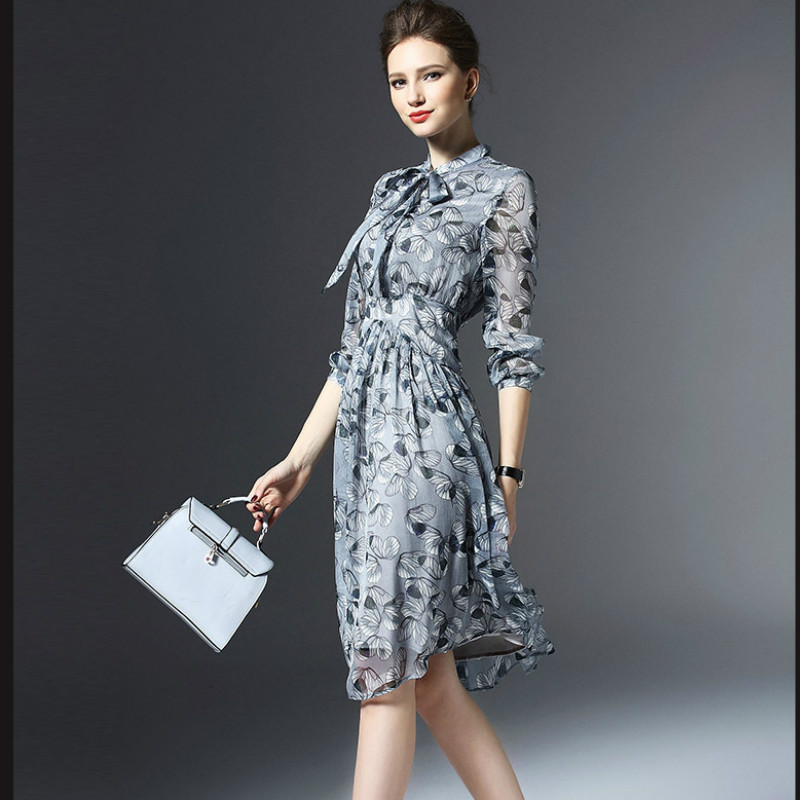 Платья на лето с рукавом фото