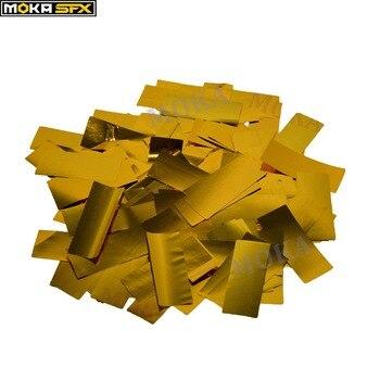 3kg/lot golden confetti paper bulk Confetti cannon machine Of Party Or Wedding Event fast ship